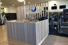 Gym Reception Cabinetry