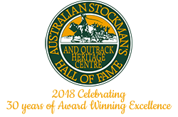 Stockman's Hall of Fame Logo