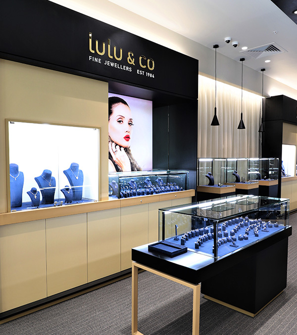 Lulu & Co Shopfitting Project