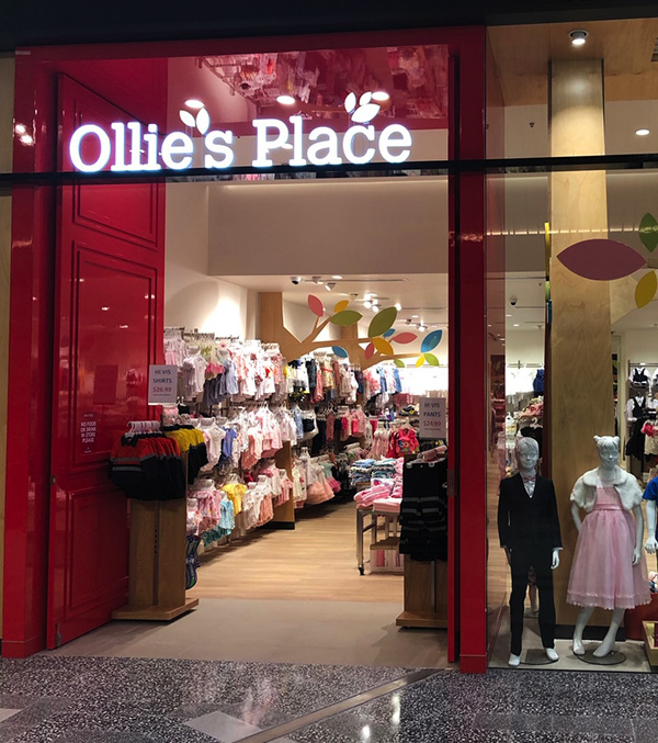 Ollie's Place Shopfitting Project
